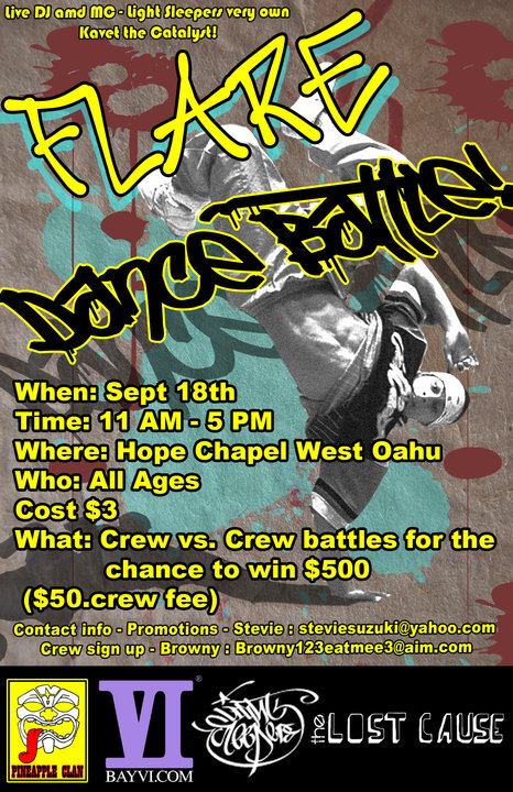 Don't Sleep & Support Hawai'i Hip Hop!